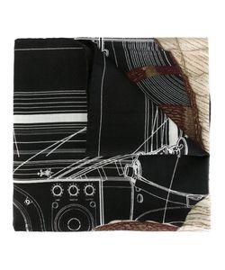 Givenchy | Шарф С Абстрактным Принтом