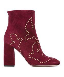 Red Valentino | Ботинки С Люверсами