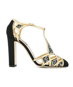 Dolce & Gabbana | Босоножки С Т-Образным Ремешком