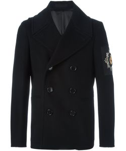 Alexander McQueen | Embroidered Patch Peacoat