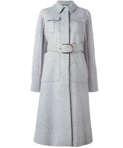 Stella Mccartney | Трикотажное Пальто С Поясом