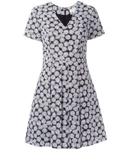 Michael Michael Kors | Leaf Print Flared Dress