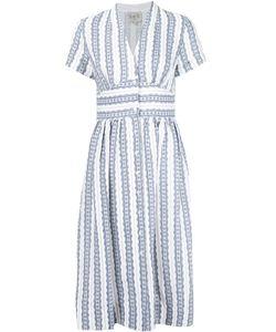 Sea | Полосатое Платье С V-Образным Вырезом