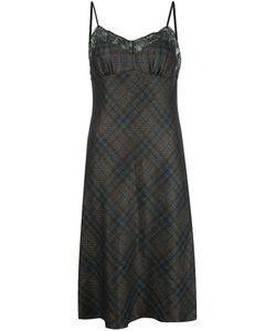 Maison Margiela | Платье С Кружевной Отделкой