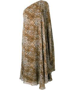 Saint Laurent | Платье С Леопардовым Принтом