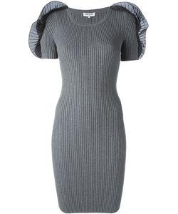 Opening Ceremony | Приталенное Платье С Аппликациями На Плечах