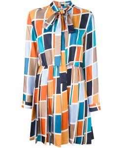 MSGM | Платье С Геометрическим Узором