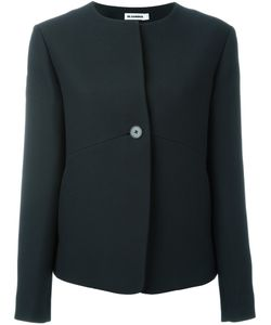 Jil Sander | Collarless Buttoned Jacket