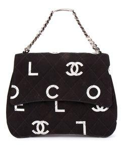 Chanel Vintage | Logo Print Tote