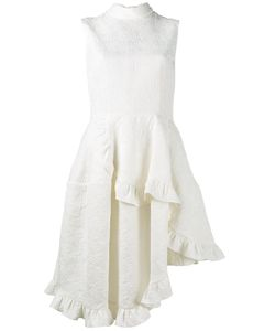 Simone Rocha | Asymmetric Ruffle Sleeveless Dress