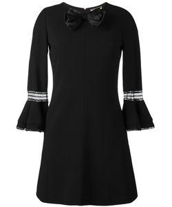 Saint Laurent | Платье С Бантом