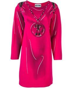 Moschino | Платье С Эффектом Тромплей