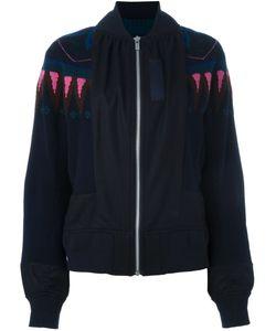 Sacai | Куртка-Бомбер С Геометрическим Узором