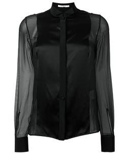 Givenchy | Sheer Contrast Panel Shirt