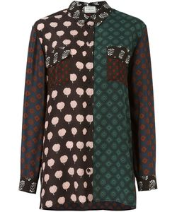 Lanvin | Рубашка С Контрастными Панелями