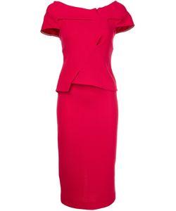 Roland Mouret | Платье C V-Образным Вырезом