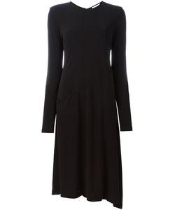 DKNY | Расклешенное Платье С Длинными Рукавами
