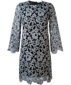 Blumarine | Платье Из Цветочного Кружева