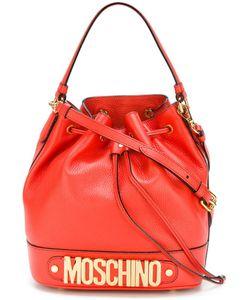 Moschino | Сумка-Мешок С Логотипом