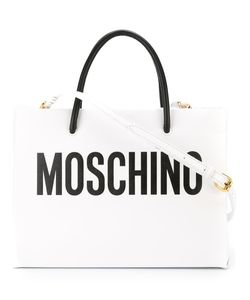 Moschino | Сумка-Тоут С Логотипом