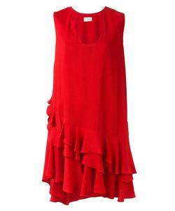 Lanvin | Асимметричное Платье С Оборками