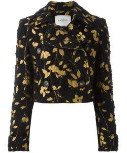 Lanvin | Куртка С Цветочной Вышивкой