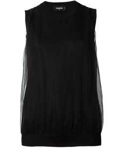 Dsquared2 | Draped Knitted Sleeveless Top