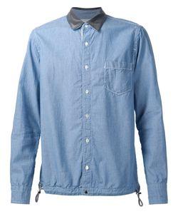 Sacai | Рубашка С Контрастным Воротником