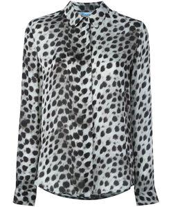 Blumarine   Рубашка С Леопардовым Принтом