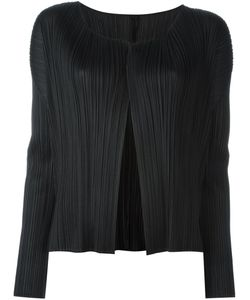 PLEATS PLEASE BY ISSEY MIYAKE | Ribbed V-Neck Cardigan