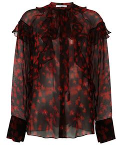 Givenchy | Прозрачная Рубашка С Принтом