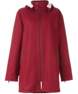 Gigli Vintage | Stitch Detail Hooded Coat