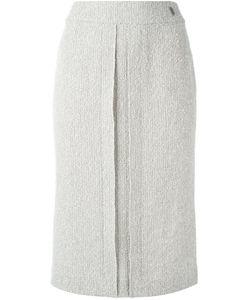 Chanel Vintage   Straight Midi Skirt