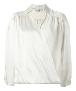 GIANFRANCO FERRE VINTAGE | Draped Blouse