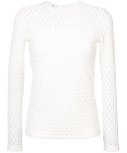 Akris Punto | Embroidered Long-Sleeve Top Women