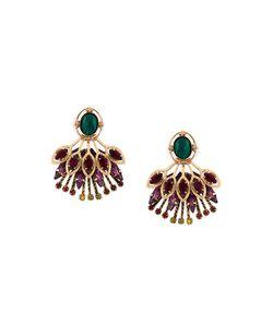 Elizabeth Cole | Crystal-Embellished Stud Earrings