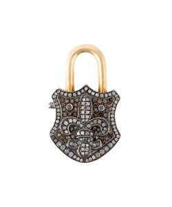 GEMCO | Diamond Padlock Pendant