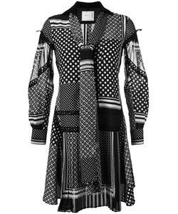 Sacai | Платье С Прином Шарфов