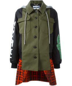 Moschino | Многослойная Куртка Бомбер