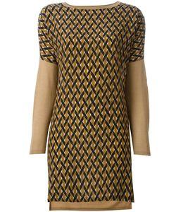 Agnona | Блузка С Геометрическим Узором Спереди