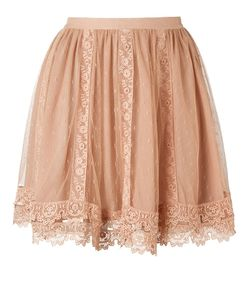 Red Valentino | Lace Mini Skirt