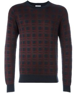 Brioni | Checked Intarsia Jumper