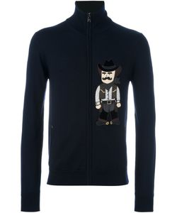 Dolce & Gabbana | Cowboy Patch Zip Cardigan