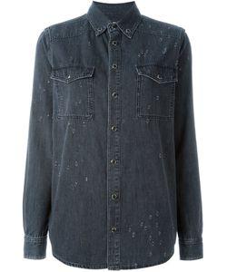 Givenchy | Джинсовая Рубашка С Рваными Деталями