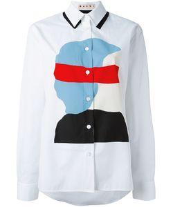 Marni | Рубашка С Принтом Ekta