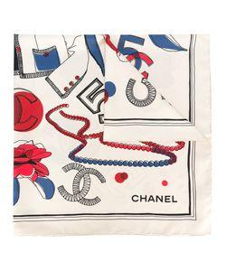 Chanel Vintage | Icon Print Scarf