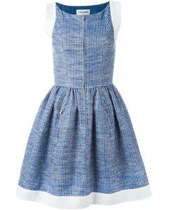 Chanel Vintage | Платье С Расклешенной Юбкой