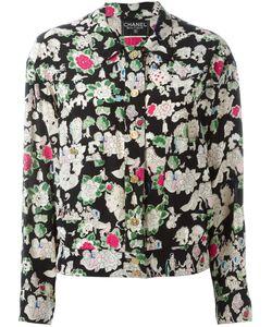 Chanel Vintage | Куртка С Цветочным Принтом