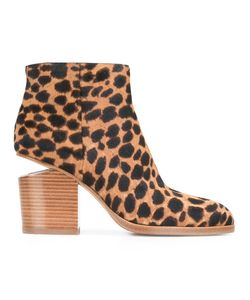 Alexander Wang | Ботинки С Леопардовым Принтом