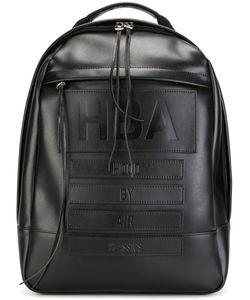 HOOD BY AIR | Рюкзак С Тиснением Логотипа